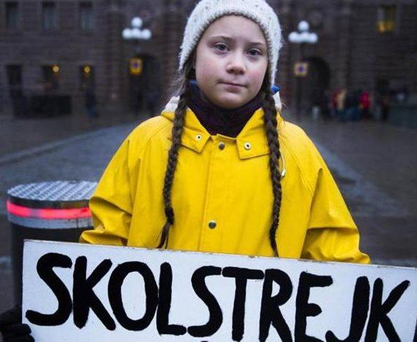 Manifestazione Greta Thunberg
