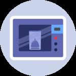alia easy sterilizzatore in microonde