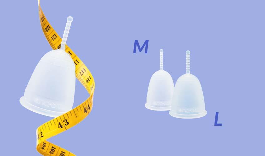 misure coppetta mestruale
