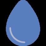 pipì verde e blu