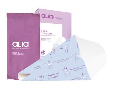 Alia-Cone_Insieme con flowpack + pack bianco