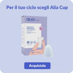 Con Alia Cup ti scordi di avere il ciclo